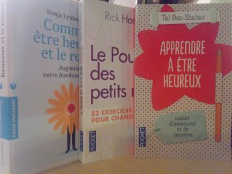 livres exercices psychologie positive