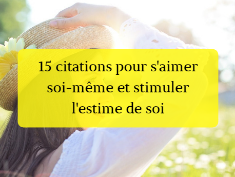 citation estime de soi