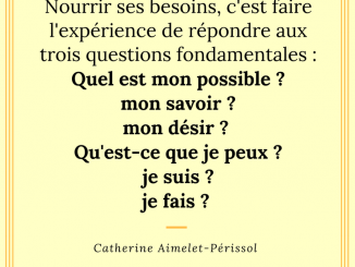 citation nourrir besoins psychologie