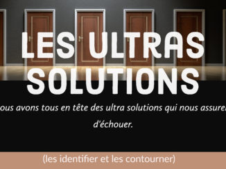 ultras solutions échouer