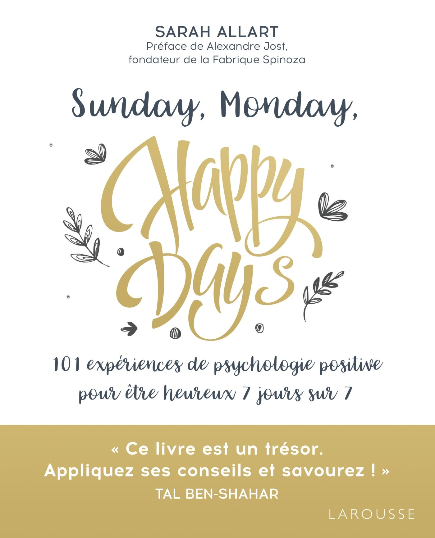 sunday monday happy days livre psychologie positive