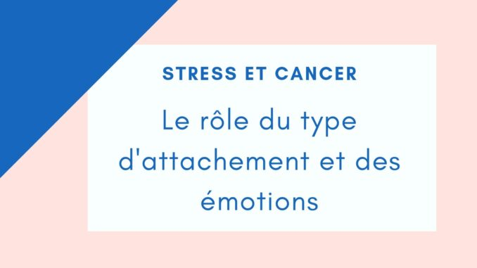 stress cancer attachement
