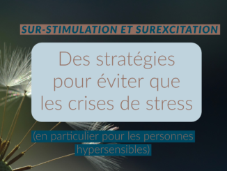 sur stimulation hypersensible